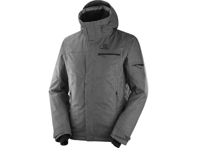 Salomon Stormslide Jacket Men black heather
